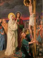 هل كانت النساء قريبة أم بعيدة عن الصليب؟