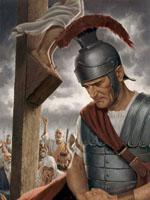 ماذا قال قائد المئة بعد صلب المسيح؟