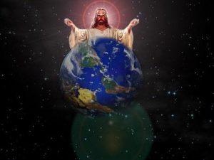 الْجَالِسُ عَلَى كُرَةِ الأَرْضِ