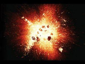 الانفجار العظيم أو الكبير