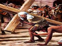 من حمل الصليب؟