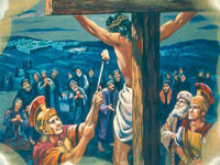 ماذا شرب المسيح على الصليب؟