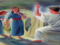 من ظهر لمريم المجدلية؟
