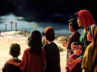 ماذا قال المسيح على الصليب؟