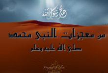 من معجزات النبي محمد
