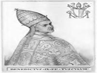 البابا بندكت التاسع
