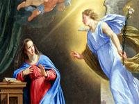 السيدة مريم العذراء والملك
