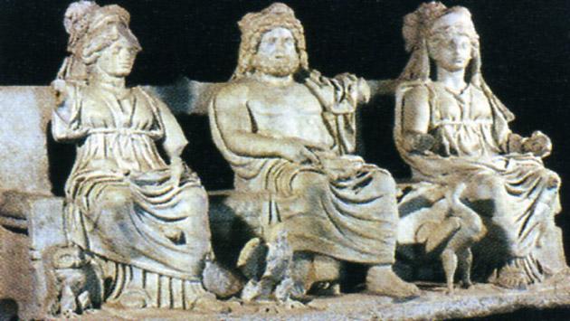 ثالوث كابيتولين كآخر شواهد التثليث عند الرومان